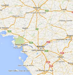 Sentiers Pays de la Loire Loire-Atlantique 44 Ancenis Châteaubriant Nantes Saint-Nazaire randonnées pédestres tous les départements régions de France tracé virtuel des chemins parcours circuit avec Google earth