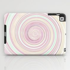 Re-Created Spin Painting No. 10 iPad Case by #Robert #Lee - $60.00 #art #spin #painting #drawing #design #circle