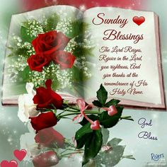 Hsppy Sunday sister and all, take care, God bless♥★♥.