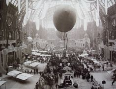 Grand Palais for the World Fair of 1900