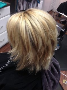 Unique Short Layered Haircuts for Women Ov. - - Unique Short Layered Haircuts for Women Over 50 Medium Hair Cuts, Long Hair Cuts, Wavy Hair, Medium Hair Styles, Short Hair Styles, 4c Hair, Medium Shag Haircuts, Short Layered Haircuts, Short Hair With Layers
