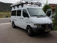 Sadly selling our 2006 Sprinter Sportsmobile. Van only has miles! Mercedes Sprinter, Sprinter Van, 4x4 Camper Van, Sprinter Conversion, Van Life, Conversation, Diesel, Rv, Military