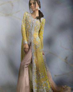 Sana-Safinaz-Silk-Tunic-Bridal-Wear-Gown-Lawn-Designs-Collection-2016.jpg (667×833)