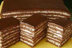 Druh receptu: Sladkosti - Page 63 of 326 - Mňamky-Recepty. Pastry Recipes, Cake Recipes, Dessert Recipes, Cooking Recipes, Russian Cakes, Russian Desserts, Ukrainian Recipes, Russian Recipes, Food Cakes