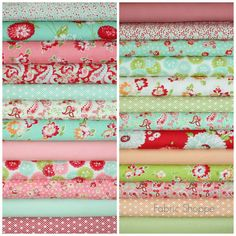 Scrumptious quilt fabric bundle by Bonnie and by fabricshoppe, $75.00
