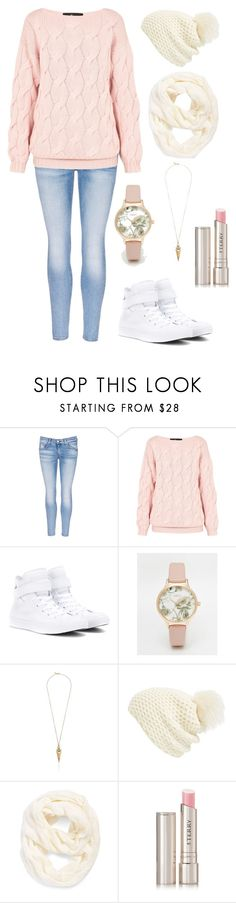 """""""Untitled #6"""" by mno25 ❤ liked on Polyvore featuring rag & bone/JEAN, AV by Adriana Voloshchuk, Converse, Oasis, Sam Edelman, Phase 3, Echo and By Terry"""