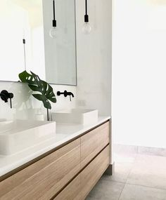 Phoenix Tapware Vivid Slimline Collection | matte black tap finish, bathroom inspiration | by The Acreage Home
