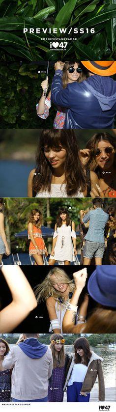 47 street- Back de Campaña Primavera Verano 2015 - 2016   The fashion girl Argentina!