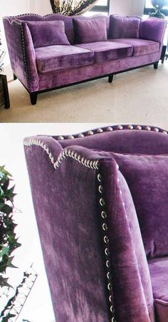 if only this luxurious sofa adorned my living room....