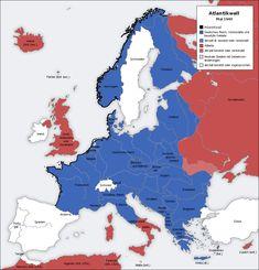 """Muralha do Atlântico (Atlantic Wall 1942-1944): França, Bélgica, Holanda, Dinamarca e Noruega. """"A Operação Overload anulou as forças alemãs estacionadas no norte da Europa, denominadas Muralha do Atlântico."""""""