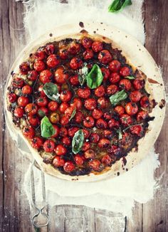 Nothing like a decent tomato tart