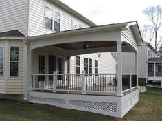 Northern Virginia Low-Maintenance Porches and Porticos | Archadeck Outdoor Living of Northern Virginia