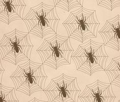 Spiderweb_print fabric by viewfromtheskye on Spoonflower - custom fabric