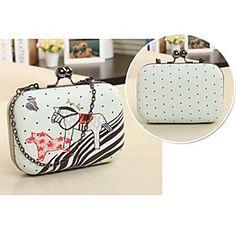 Handcee Women's PU Clutch Bag