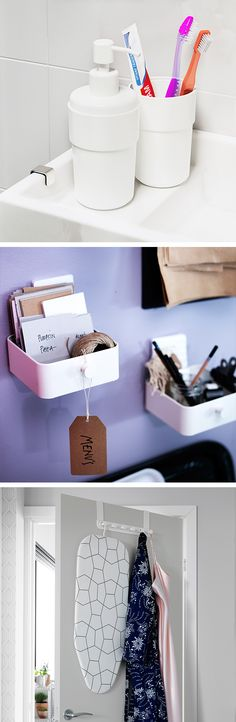 From bath to desk storage, the ENUDDEN series will help you stay organized at college.