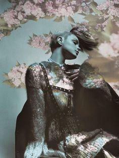 Jessica Stam for Vogue Italia