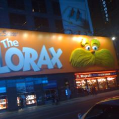 Times Square The Lorax