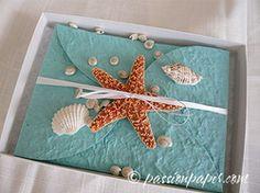 The Little Mermaid Beach Wedding - Under the Sea inspired Invitations.