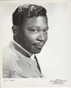 B. B. KING, Original 1950s Rock 'n Roll / Blues Music Agency Photo