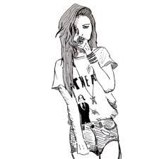 Resultado de imagem para como desenhar garotas estilistas