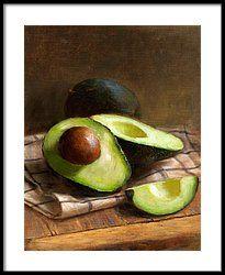 Avocados Framed Print by Robert Papp