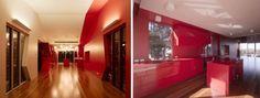 K House Red Interior Design