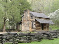 Free photo: Log Cabin, Old House,