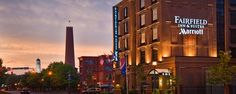 Baltimore's first green hotel, the new Fairfield Inn & Suites by Marriott – Baltimore Inner Harbor, has brought one of the city's most treasured downtown sites back to its original personality: a friendly, favored gathering place for both visitors and locals.
