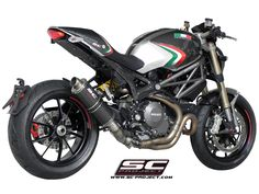 That's pretty much how my Monster 1100 Evo would look like!