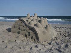 Modernist Sandcastles Constructed by Calvin Seibert