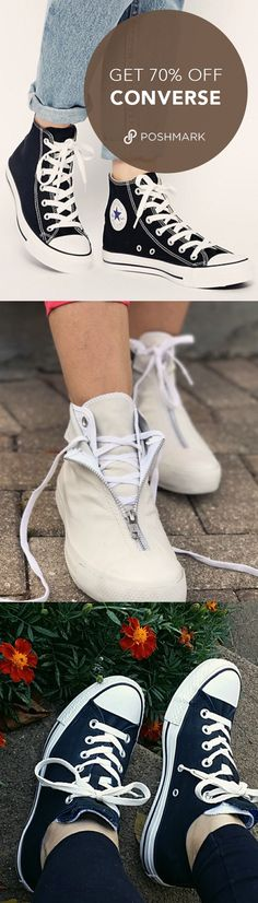Why pay full price for your new fall sneakers when you can get 70% off and more on Poshmark? Download the free app and start shopping!