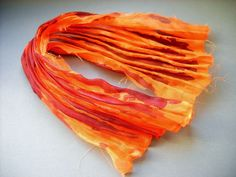 Recently I come across many shibori ribbons in bead embroidery - thanks to the gorgeous Sherri Serafini and her master classes. I am fasci...
