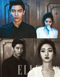 Between Wor(L)ds: Lee Min Ki and Kim Go Eun for Elle and Cine21