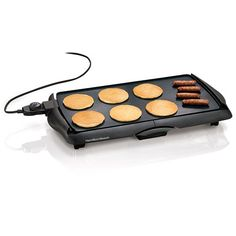 (click twice for updated pricing and more info) Proctor Silex - Electric Griddle #housewares #kitchen_gadgets http://www.plainandsimpledeals.com/prod.php?node=34521=Proctor_Silex_-_Electric_Griddle_-_38515#