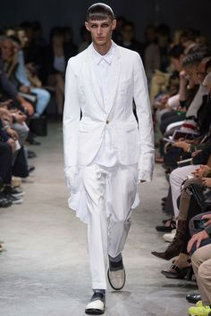 @CommedesGarçons Men's Spring 2014 Runway Fashion #paris #fashion