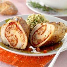 Découvrez la recette Poulet à l'espagnol sur cuisineactuelle.fr.