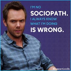 Jeff Winger tells it like it is on Community. Community Tv Series, T Bone, Sean Parker, Comedy Series, Parks N Rec, Best Shows Ever, So Little Time, Really Funny, Community College