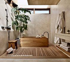 Home Interior Boho @ Former Beach Motel in Malibu Is Reborn as the Japanese-Inspired Nobu Ryokan Japanese Style Bathroom, Japanese Home Decor, Japanese House, Japanese Bedroom Decor, Living Room Japanese Style, Japan Bedroom, Japanese Decoration, Japanese Inspired Bedroom, Bathroom Styling