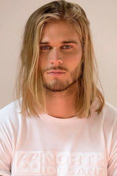 Blonde Hair Blue Eyes, Blonde Guys, Hair And Beard Styles, Long Hair Styles, Blue Eyed Men, Grunge Hair, Gorgeous Men, Hair Inspiration, Sexy Men