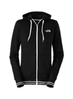 The North Face Womens Logo Stretch Full Zip Hoodie:Amazon:Clothing