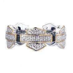 harley davisdon ladies rings | ... of All That Glitters ♥ / Harley-Davidson® Ladies' Eternity Ring