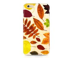 Very pretty phone case with fall leaves in various shades of brown, orange, yellow and red. The perfect accessory for your fall wardrobe!  AVAILABLE DEVICE SIZES: iPhone 7 Plus (tough option only) iPhone 7 iPhone 6S Plus iPhone 6S iPhone 6 Plus iPhone 6 iPhone 5/5S iPhone 5C iPhone 4/4S Samsung Galaxy 7 Edge (tough option only) Samsung Galaxy 7 (tough option only) Samsung Galaxy 6 Samsung Galaxy 6 Edge (tough option only) Samsung Galaxy 6 Edge Plus (tough option only) Samsung Galaxy 5…