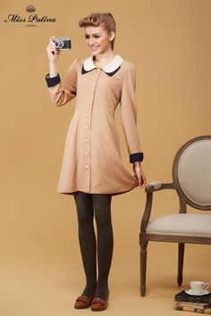 Farringdon Frock (Pale Pink) (2)