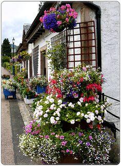 Village of Luss, Loch Lomond - Scotland.  ASPEN CREEK TRAVEL - karen@aspencreektravel.com