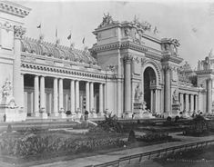 Palace of Liberal Arts - Louisiana Purchase Exposition - Wikipedia, the free… St Louis, Louisiana Purchase, Classic Building, Latest Discoveries, Music School, University Of Washington, Forest Park, State Government, World's Fair