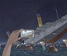 If the Titanic sank today