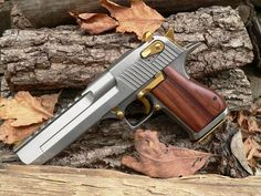"Desert Eagle Mk 19 50AE pistol with a 6"" barrel"