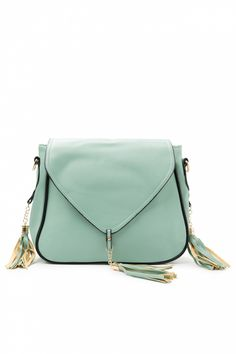 From Paris with Love! -  60s Mint Vintage Shoulderbag With Tassels