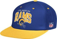 4a51e50232f Amazon.com   Los Angeles Rams Mitchell   Ness Arched Logo Retro Vintage  Snap Back Hat   Sports Fan Baseball Caps   Sports   Outdoors