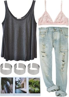 """simpleee"" by sofie-way ❤ liked on Polyvore"